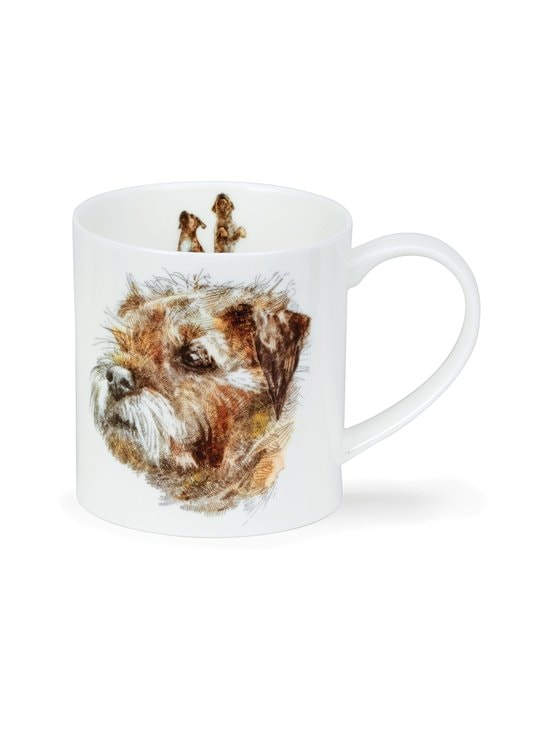 Dunoon - Orkney H Longmuir Dog Coll Border Terrier -muki 0,35 l - MONIVÄRINEN | Stockmann - photo 1