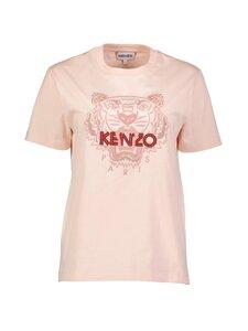 Kenzo - Loose T-Shirt Tiger Classic -paita - 34 - SKATE JERSEY CLASSIC TIGER - FADED PINK | Stockmann