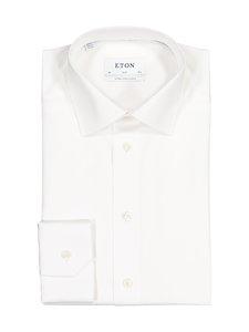 Eton - Slim, Extra Long Sleeve -kauluspaita - VALKOINEN | Stockmann