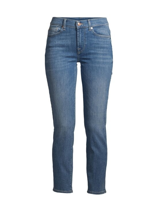 7 For All Mankind - Roxanne Ankle Reason -farkut - LIGHT BLUE | Stockmann - photo 1
