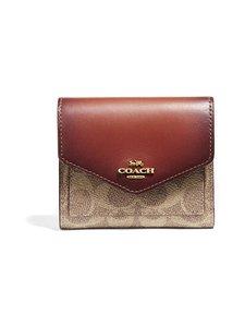 Coach - Small Wallet -lompakko - TAN/RUST | Stockmann