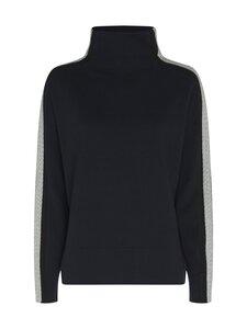 Tommy Hilfiger - Side Stripe Mock-Nk Sweater -neule - DW5 DESERT SKY | Stockmann