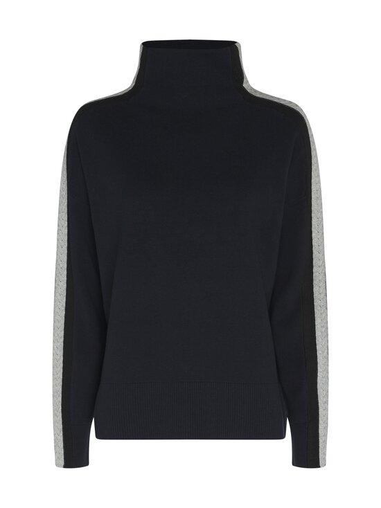 Tommy Hilfiger - Side Stripe Mock-Nk Sweater -neule - DW5 DESERT SKY | Stockmann - photo 1