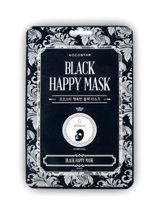 KOCOSTAR - Black Happy Mask -kangasnaamio - null | Stockmann
