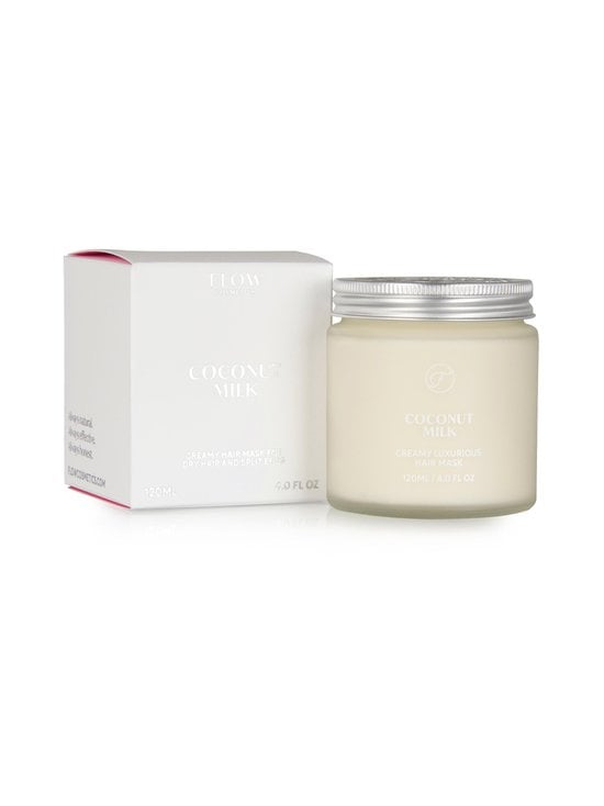 Flow Cosmetics - Coconut Milk Creamy Luxurious Hair Mask -hoitonaamio 120 ml - NOCOL   Stockmann - photo 2
