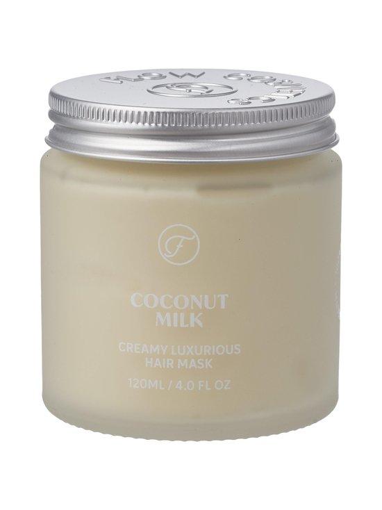 Flow Cosmetics - Coconut Milk Creamy Luxurious Hair Mask -hoitonaamio 120 ml - NOCOL   Stockmann - photo 1