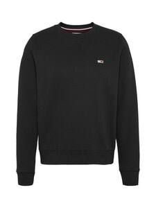 Tommy Jeans - TJW Regular Fleece C Neck -collegepaita - BDS BLACK | Stockmann