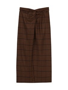 Nanushka - Samara Skirt -hame - NAVY RUST CHECK | Stockmann