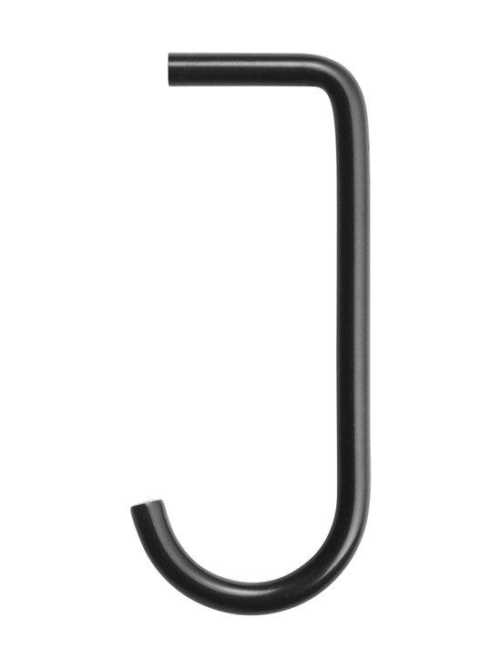 String - String + Hook -koukku String System -metallihyllyyn, 5 kpl - MUSTA | Stockmann - photo 1