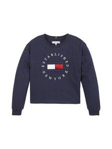Tommy Hilfiger - Heritage Logo Tee L/S -paita - C87 TWILIGHT NAVY | Stockmann