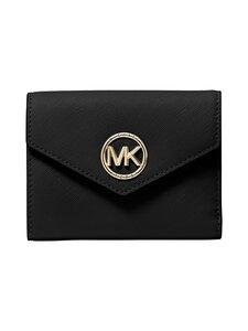 Michael Michael Kors - Carmen Envelope Trifold Bag -nahkalompakko - 001 BLACK | Stockmann