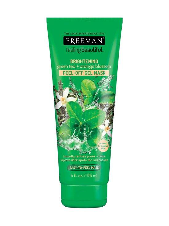 Freeman - Brightening Peel-Off Gel Mask Green Tea & Orange Blossom -geelinaamio 175 ml - NOCOL   Stockmann - photo 1