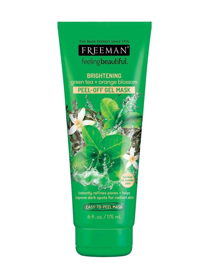 Brightening Peel-Off Gel Mask Green Tea & Orange Blossom -geelinaamio 175 ml