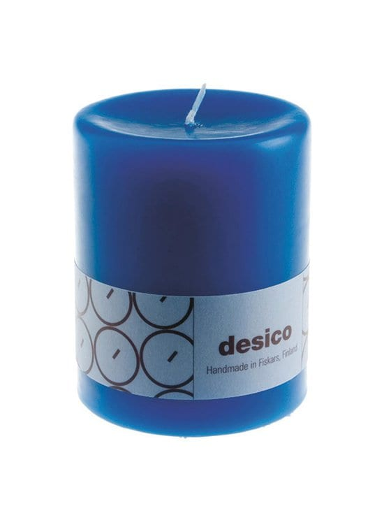 Desico - Pöytäkynttilä 100 mm - BLUE | Stockmann - photo 1