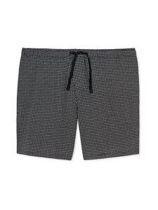 Schiesser - Mix+Relax Long Boxer -pyjamashortsit - 006 BLACK-MEL. | Stockmann