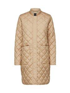 Selected - SlfFillipa Quilted Coat -takki - CORNSTALK | Stockmann