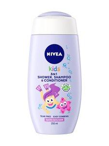 NIVEA - Kids 3 in1 Sparkle Berry Scent -suihkugeeli 250 ml | Stockmann