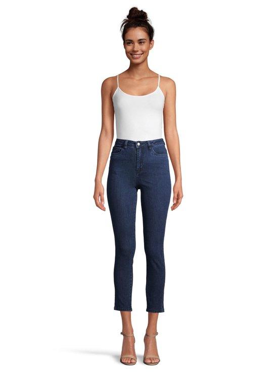 NA-KD - Highwaist Skinny Jeans -farkut - DARK BLUE   Stockmann - photo 2
