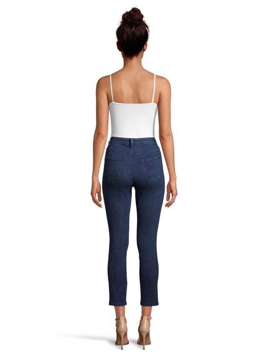 NA-KD - Highwaist Skinny Jeans -farkut - DARK BLUE   Stockmann - photo 3