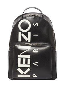 Kenzo - Kontrast Backpack -nahkareppu - 99BLACK | Stockmann