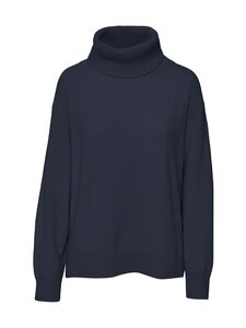 Filippa K - Molly Roll-Neck -villaneule - 2830 NAVY | Stockmann