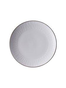 Tokyo Design Studio - Lines-lautanen 16,5 cm - WHITE | Stockmann