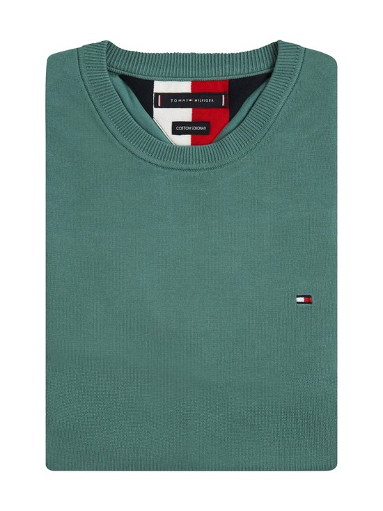 Tommy Hilfiger - TH Flex Crew Neck -neule - MBZ JUNIPER GREEN | Stockmann - photo 3