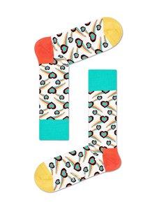 Happy Socks - Shooting Heart -sukat - 1300 WHITE | Stockmann
