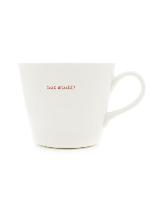 Keith Brymer Jones - Word Range Standard Bucket Mug -muki 0,35 l - WHITE | Stockmann - photo 1