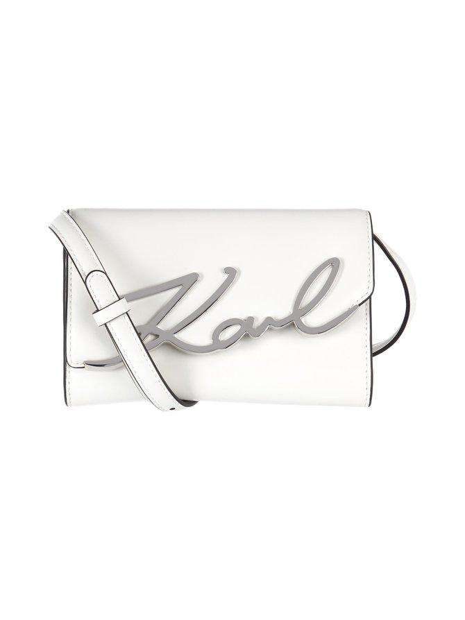 K/Signature Beltbag -nahkalaukku