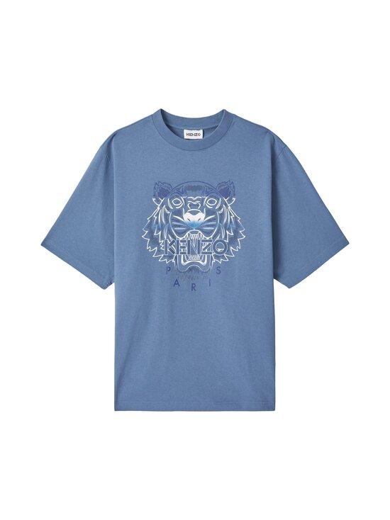 Kenzo - Gradient Tiger Classic T-Shirt -paita - 67 - GRADIENT TIGER SINGLE JERSEY - BLUE | Stockmann - photo 1