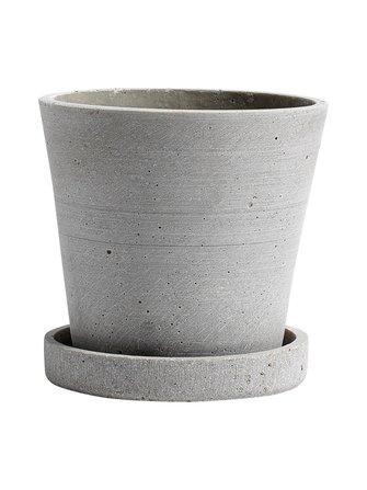 Pot and saucer S ø 11 cm - HAY