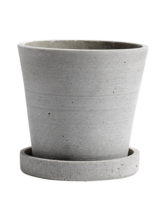 HAY - Ruukku ja aluslautanen S ø 11 cm - GREY | Stockmann - photo 1