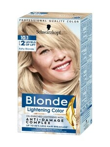Schwarzkopf - Ashy Blonde Lightening Blonde 10.1 -vaalennusaine | Stockmann