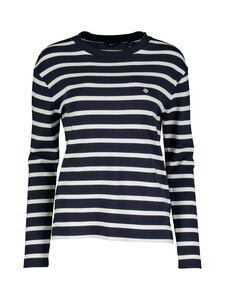 GANT - Breton Stripe -paita - 433 EVENING BLUE | Stockmann
