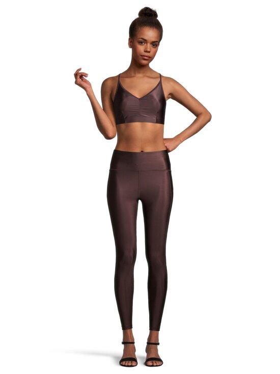 Filippa K - Cropped Gloss -leggingsit - 7935 MAROON   Stockmann - photo 2