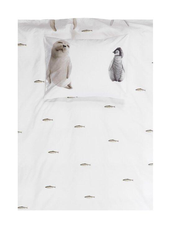 Snurk - Arctic Friends -pussilakanasetti 150 x 210 + 50 x 60 cm - WHITE   Stockmann - photo 2