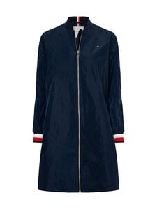 Tommy Hilfiger - TH POLY LONG BOMBER COAT -takki - DW5 DESERT SKY | Stockmann