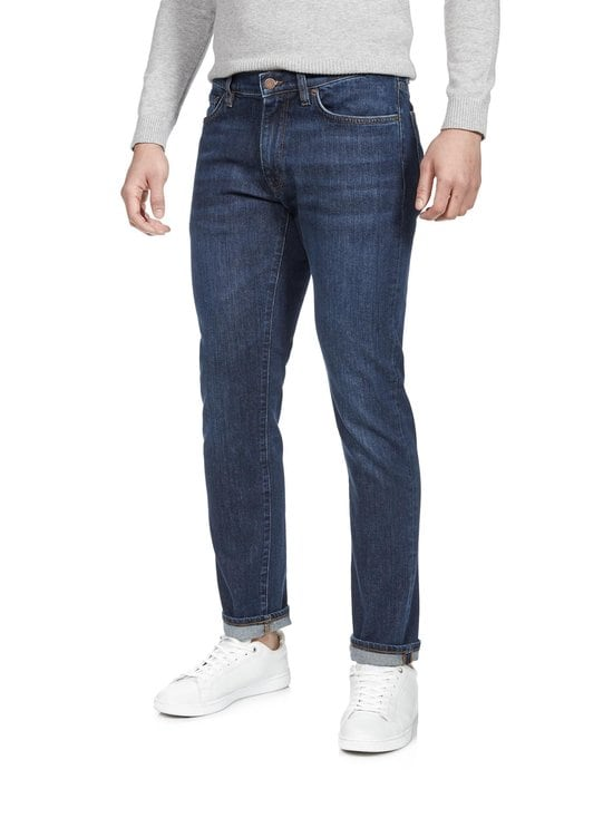GANT - Slim Straight -farkut - 961 DARK BLUE WORN IN | Stockmann - photo 1