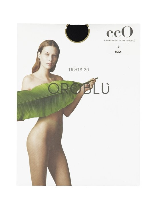 Oroblu - EcO 30 den -sukkahousut - BLACK | Stockmann - photo 1