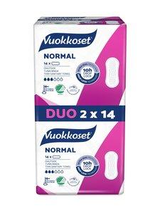 Vuokkoset - Normal-ohutside 2 x 14 kpl | Stockmann
