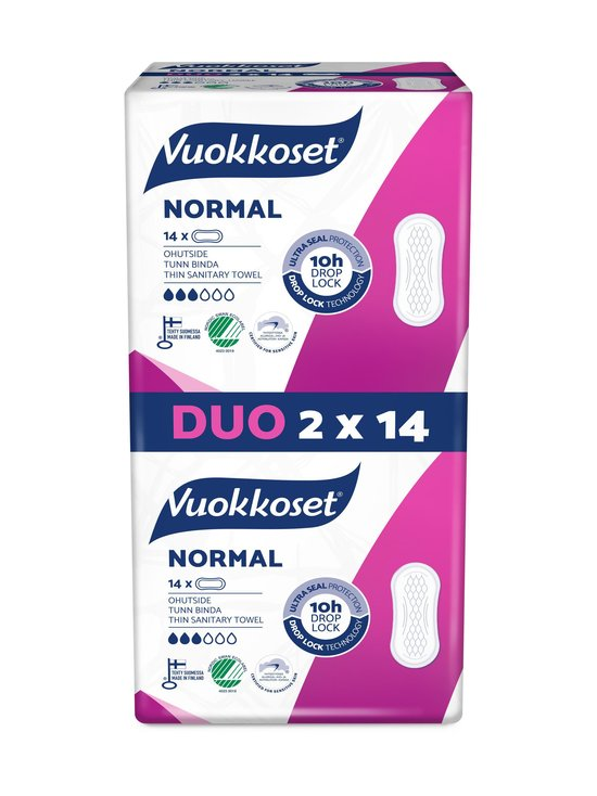 Vuokkoset - Normal-ohutside 2 x 14 kpl - NOCOL   Stockmann - photo 1