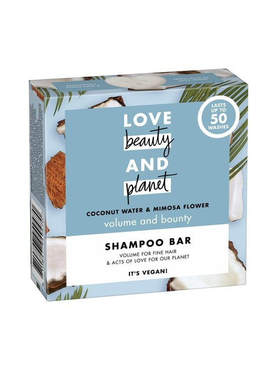 Love Beauty and Planet - Coconut Water and Mimosa Flower Shampoo Bar -shampoopala 90 g - NOCOL | Stockmann - photo 2