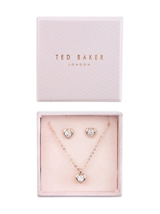 Ted Baker London - Hadeya, kaulakoru ja korvakorut -setti - ROSE GOLD/CRYSTAL | Stockmann - photo 1