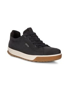 ecco - Byway Tred M -nahkasneakerit - 02001 BLACK | Stockmann
