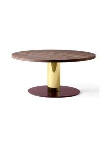 &tradition - Mezcla JH20 -pöytä 80 x 40 cm - WALNUT / BRASS / BURGUNDY | Stockmann