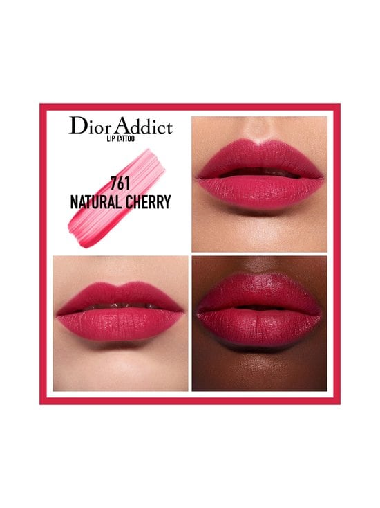 DIOR - Addict Lip Tattoo -huulipuna 6 ml - 761 NATURAL CHERRY | Stockmann - photo 2
