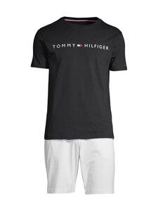 Tommy Hilfiger - SS Short Jersey Set -pyjama - 0SS DESERT SKY/LUMINOUS BLUE | Stockmann