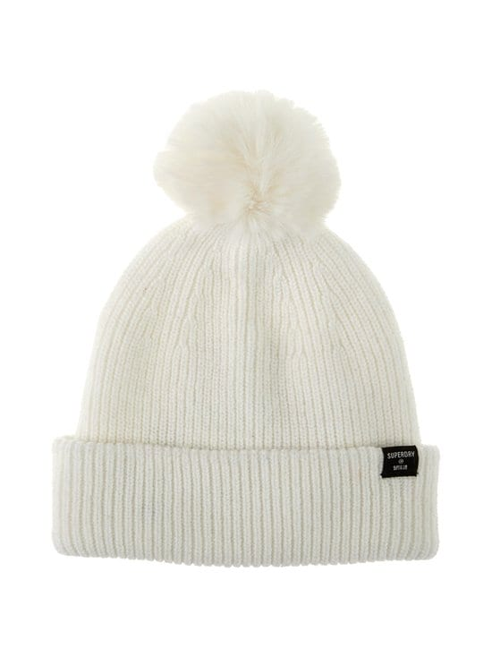 Superdry - Heritage Ribbed Beanie -pipo - 22C CREAM | Stockmann - photo 1