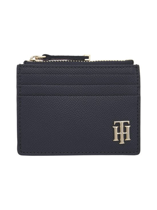 Monogram Zipped Credit Card Holder -korttikotelo